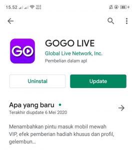 Kenapa Gogo Live Tidak Bisa Diakses