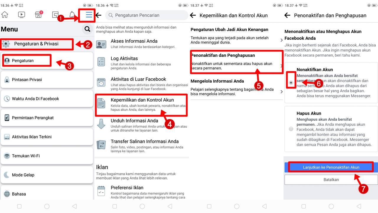 Cara Blokir Akun FB Milik Sendiri Via HP